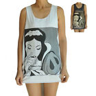 Unisex Snow White Cocaine Vest Tank Top Singlet Dress Sleeveless T-Shirt