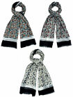 Ladies Scarfs 90900 Horsey design Scarf