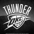 "Oklahoma Thunder Logo Vinyl Decal Sticker - 4"" and Larger - 30+ Color Options! on eBay"