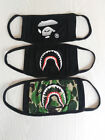 Anti Dust Face Mask Shark teeth and Ape monkey mouth Free and fast shipping bape