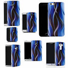 hard slim case cover for many mobiles - blue twisted