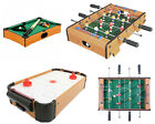 Wooden Mini Table Games Football Hockey Pool Tables Kids Desktop Play Toy Gift