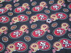 49ERS--men's tieback- OR bouffant -SCRUB HATS / MEDICAL- your choice