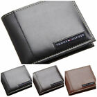 TOMMY HILFIGER MEN'S LEATHER RANGER BIFOLD WALLETS 31TL22X063 ALL COLORS