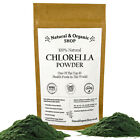 Natural & Organic - CHLORELLA Powder --- Broken Cell Wall --- (Up to 25% OFF!)