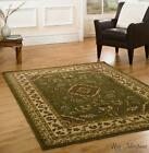 Sincerity Sherborne Cheap Green Traditional Rugs