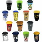 Harry Potter / Batman / Dr Who / Ghostbusters Ceramic Travel Mug & Officiel
