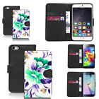 black faux leather wallet case cover for many mobiles design ref z555