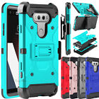 For LG V20 Case Shockproof Belt Holster Clip Stand Heavy Duty Armor Phone Cover