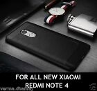 ORIGINAL IPAKY Brushed TPU Carbon Fibre Back Cover Case For Xiaomi Redmi Note 4