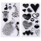 Unique Transparent Clear Rubber Stamp Seal DIY Scrapbooking Decoration DH