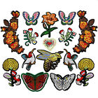 HOT Embroidered Iron Sew On Patches Badge Bag Fabric Applique Craft DIY $1.99 USD