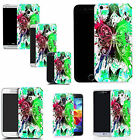 hard back case cover for many mobiles - green dragonfly