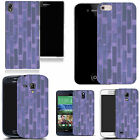 hard slim case cover for many mobiles  - purple wall