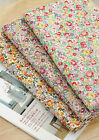 Jane Floral 100% Cotton Fabric / All sizes / flowers Quilting cuts (fft035)