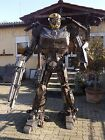 Scrap Metal Art Steel Sculpture Recycled Handmade Nuts&Bolts Stahl Metal Figur