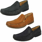 Mens Anatomic & Co Tavares Leather Slip On Moccasin Shoes