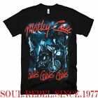 MOTLEY CRUE GIRLS GIRLS PUNK ROCK BAND T SHIRT  MEN'S SIZES image
