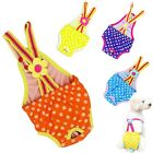 Chic Pet Sanitary Pants Cute Polka Dot Decor Female Dog Soft Suspender Underwear