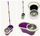 360° Microfiber Easy Spin Mop & Basket System Spin Mop Bucket And Dry Head HTUK