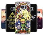 The Legend of Zelda Link Triforce Rubber Phone Cover Case fits Samsung Galaxy