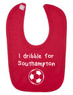 I Dribble For Southampton Baby Bib. English Football. New Born. B-Shirts.