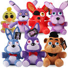 Kids Gifts Set of 9 FNAF Five Night at Freddy's Chica Bonnie Foxy Plush Doll Toy