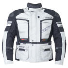 RST Motorcycle Bike 1850 Adventure III Silver Touring Jacket
