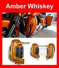 Amber Whiskey Lower Vented Fairing For Harley Touring Street Electra Glide 83-17