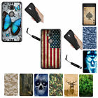 For Huawei Sensa 4G LTE Honor 5X BLACK Dual Layer Hybrid Rugged Armor Cover Case