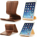 100% Samdi Wooden Stand Desktop Holder Bracket for iPad Samsung Universal Tablet