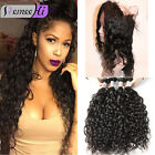 360 Lace Frontal With 3 Bundles/300G  Brazilian Virgin Hair Body Wave Human Hair