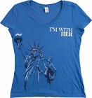 I'm With Her Statue of Liberty | Funny Liberal Progressive Protest Women's Shirt