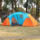 3-4 Person Instant Cabin Camping Tent HikingTraveling Easy Setup Outdoor Sports