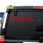 Fahrschule German learner's plate Car Decal Sticker