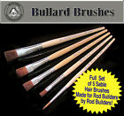 Set of (5) Sable Brushes Specifically for Rod Building Finish/Epoxy/Coating