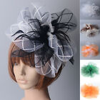 HOT party bridal wedding handmade hair clips fascinator feathers hat  women gift