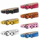 Внешний вид - Baby Kids Boys Girls PU Leather Waist Belt Waistband Buckle Adjustable Fashion