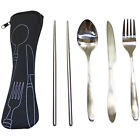 cutlery silverware - Rolling Outdoors Stainless Steel Travel / Camping Cutlery Silverware Set