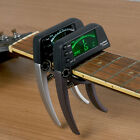 2-in-1 Tuner Acoustic Capo Tuner For Electric Guitar Bass TCapo20 Professional