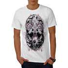 Crazy Skull Heads Eyeball Fear Men T-shirt S-5XL NEW | Wellcoda