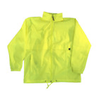 Sour Skateboards Windbreaker Neon Yellow
