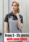 From 3 - 25 shirts Ladies Resort Polo with Your Embroidered LOGO (Biz P606LS)