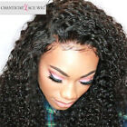 Pre Plucked 360 Full Lace Frontal Closure Curly Indian Virgin Human Hair Closure