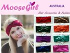 Velvet Turban Headband Women Ladies Solid Colours Stretch Hair Band Head Wrap