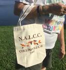 HALL CHINA 1997 AUTUMN LEAF JEWEL TEA NALCC CONVENTION COLLINSVILLE IL TOTE BAG