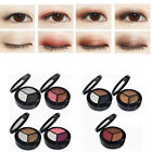 3 Colors Makeup Naked Eyehsadow Palette Smoky Cosmetic Set Glitter DB S