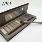 12 Color Eye Shadow Makeup Palette Brush Makeup Cosmetic Nude Earthy DB S