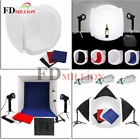 Photo Studio Photography Light Tent Backdrop Kit Cube Soft Lighting Carry BAG