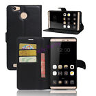 For Leagoo Shark 1 Flip Magnetic Leather Soft Gel Wallet Card Case Stand Cover